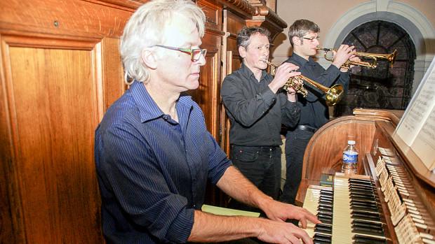 Trompettes et orgue à Novéant