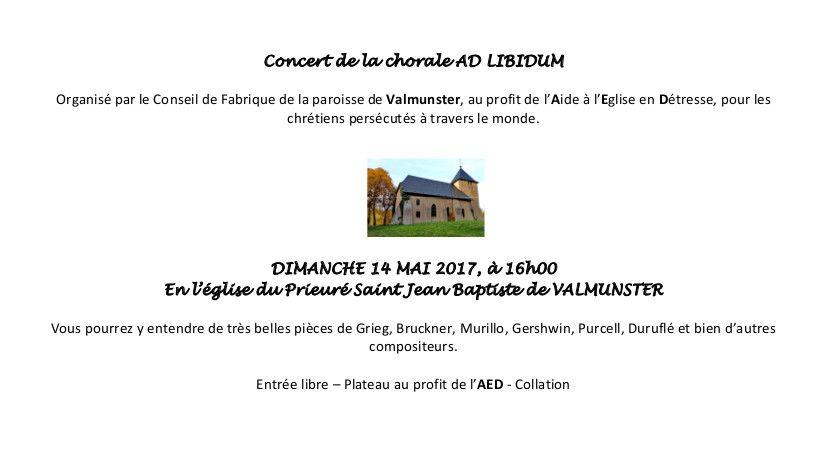 Concert ad-libitum