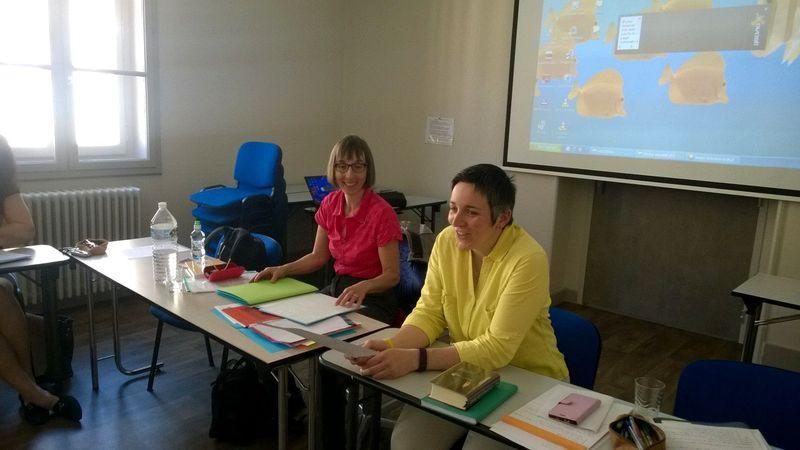 SDEJ formation accompagnement Christine AULENBACHER et Céline CLAUDE 16juin2017