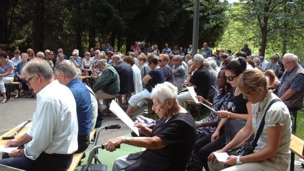 L'assemblée des pélerins