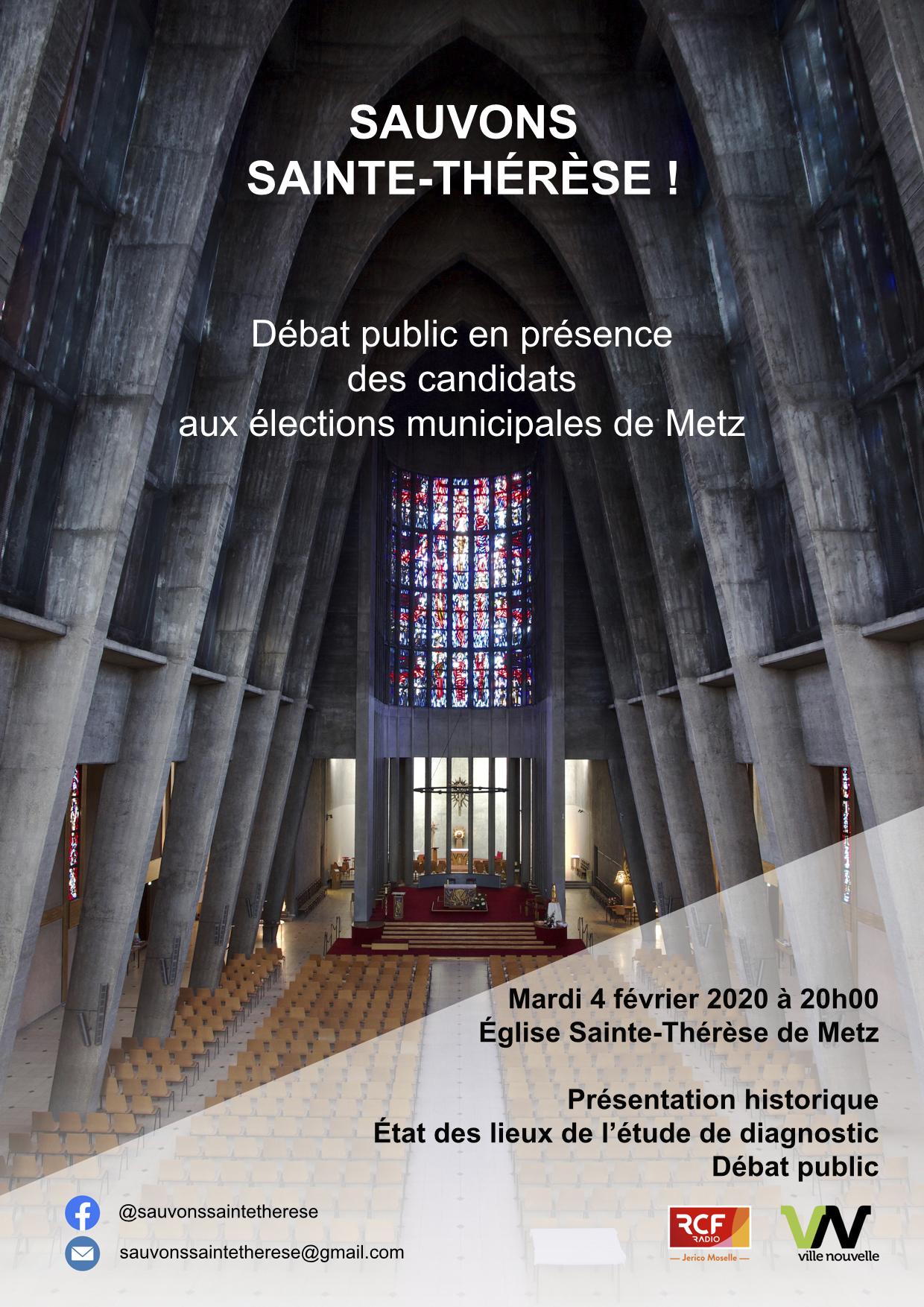 Sauvons Sainte-Thérèse !